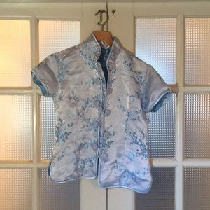 Vintage Chinese frog closure blouse